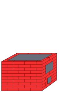 Отопительный щиток с плитой