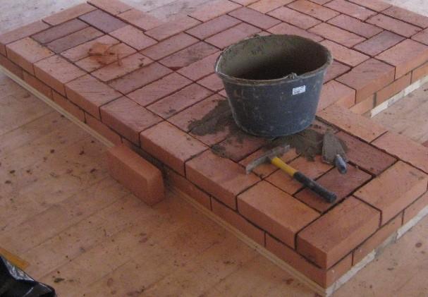Начинаем строить печь.2.
