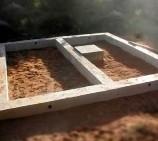 Опечник-фундамент под печь и гидроизоляция.