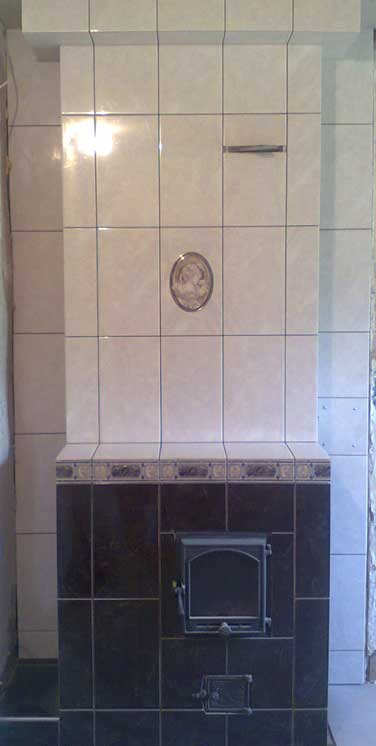 Плитка на печь