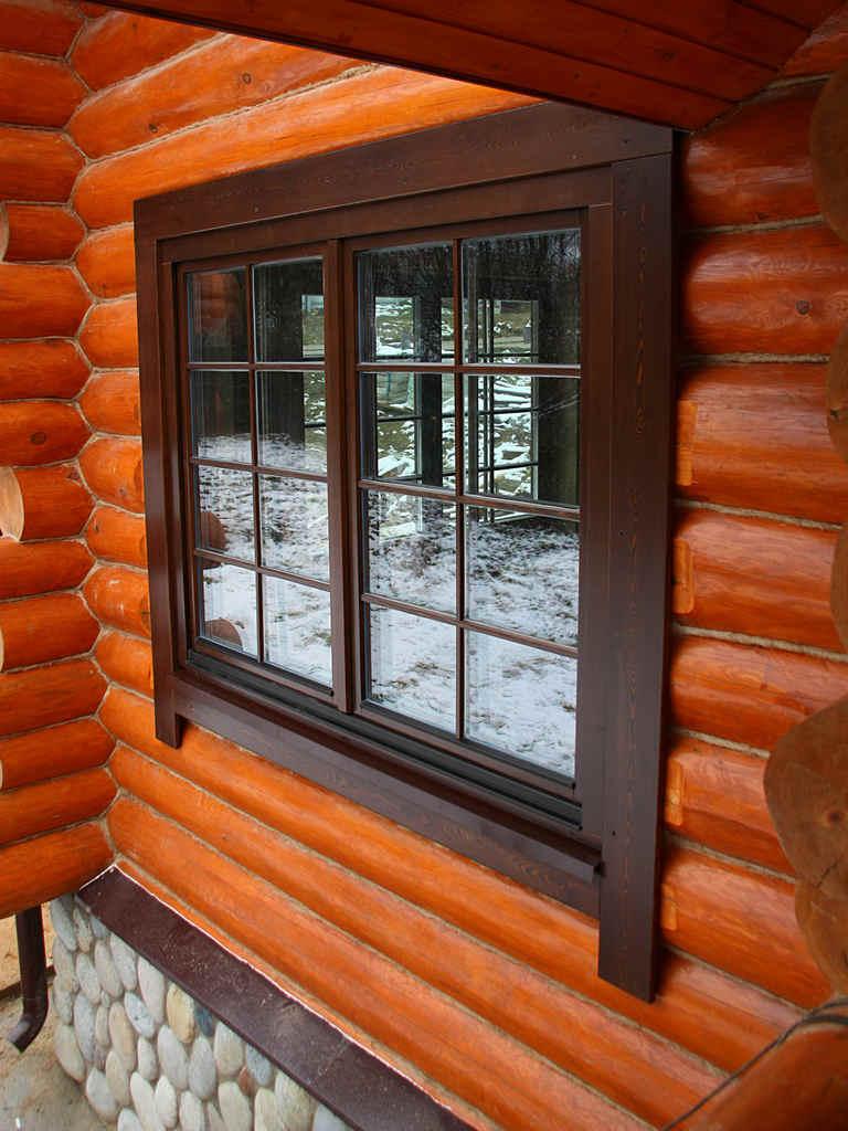 Окна для бани: деревянные или пластиковые?