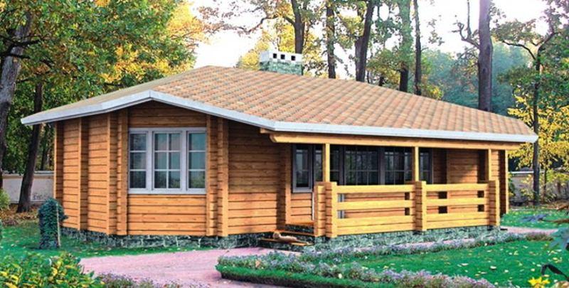 Как самостоятельно построить дом из бруса 7 на 7