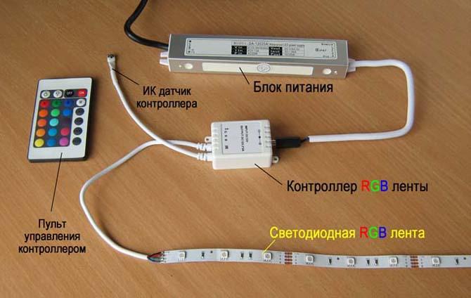 Светодиодные ленты и их подключение