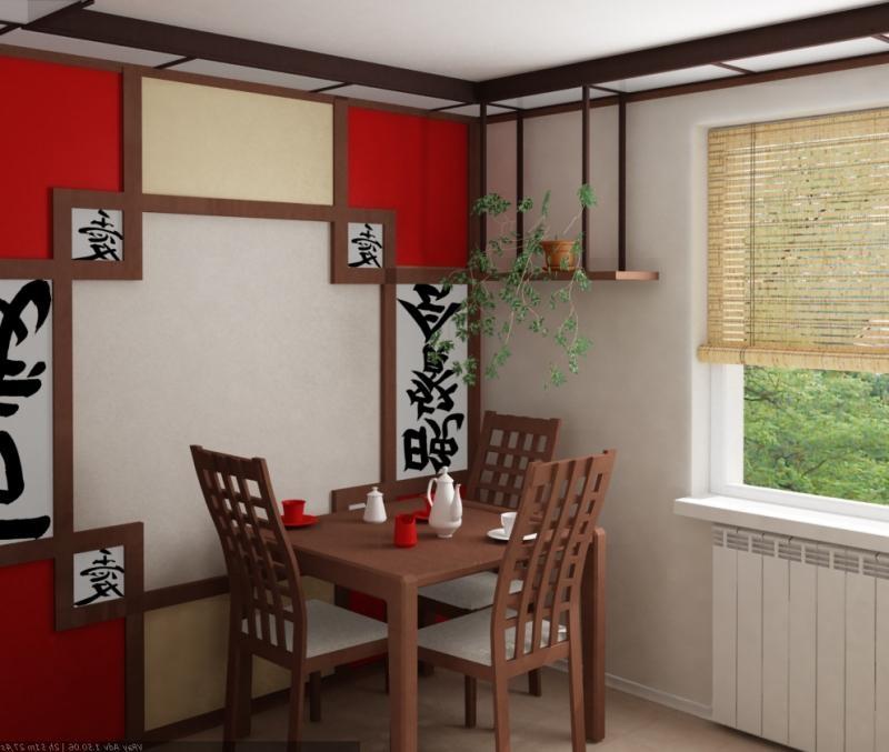Как из своей кухни сделать кухню в японском стиле