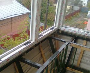 Как самому сделать остекление балкона.