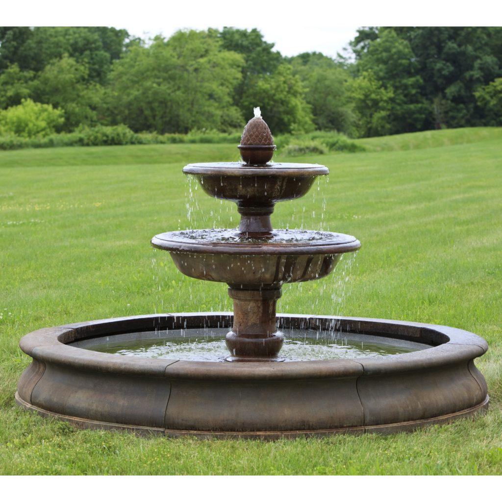 Как сделать в дома фонтан