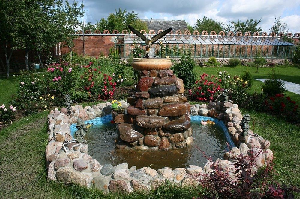 Декоративный фонтан своими руками пошаговая инструкция