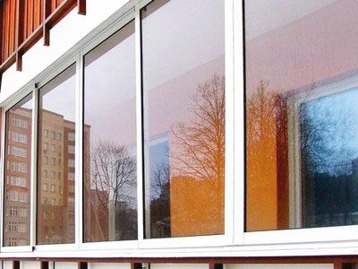 Остекление балкона алюминиевым профилем