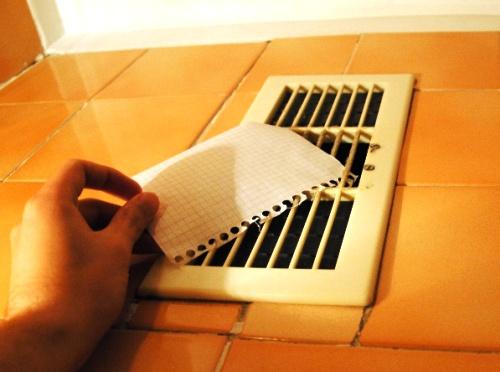 Как установить вентиляционную решетку