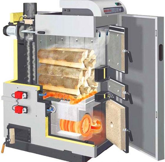 Котел отопления длительного горения — расход дров и какие дрова лучше