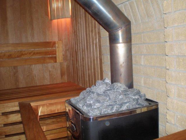 Дымоходы для банной дровяной печи — керамические, кирпичные, стальные