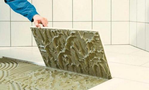 Как выбрать хороший клей для плитки