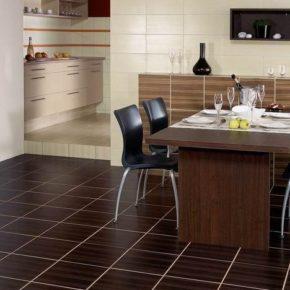 Напольная плитка для кухни - фото (11)