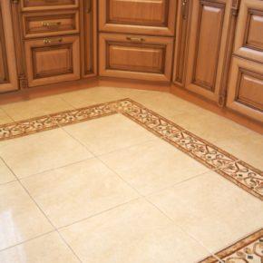 Напольная плитка для кухни - фото (12)