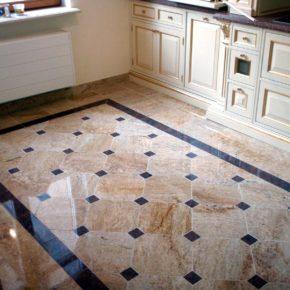 Напольная плитка для кухни - фото (13)