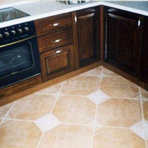 Напольная плитка для кухни - фото (14)