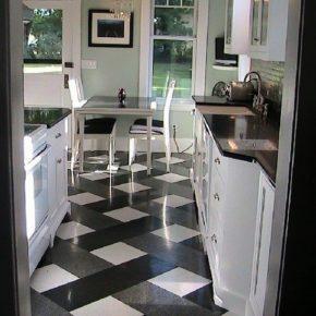 Напольная плитка для кухни - фото (16)