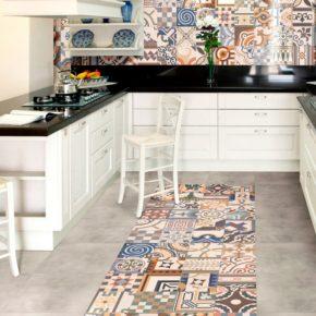 Напольная плитка для кухни - фото (17)