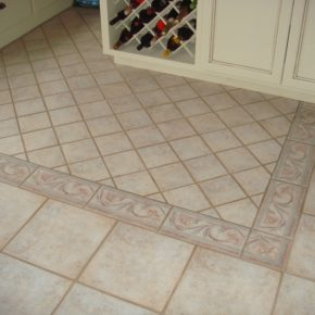 Напольная плитка для кухни - фото (19)