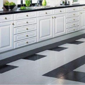 Напольная плитка для кухни - фото (20)
