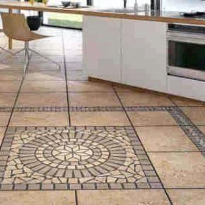 Напольная плитка для кухни - фото (23)