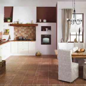 Напольная плитка для кухни - фото (24)