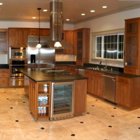 Напольная плитка для кухни - фото (25)