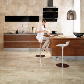 Напольная плитка для кухни - фото (29)