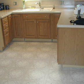 Напольная плитка для кухни - фото (31)