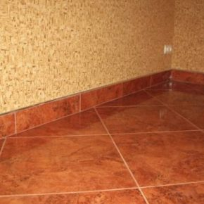 Напольная плитка для кухни - фото (32)