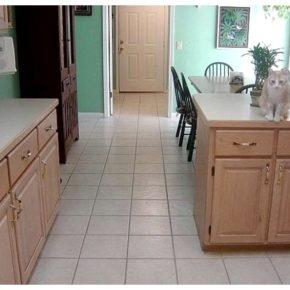 Напольная плитка для кухни - фото (33)