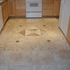 Напольная плитка для кухни - фото (34)