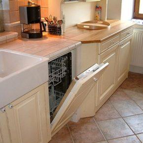Напольная плитка для кухни - фото (36)