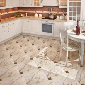 Напольная плитка для кухни - фото (41)