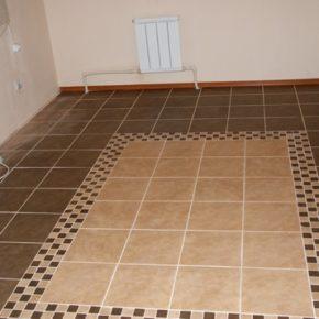 Напольная плитка для кухни - фото (44)