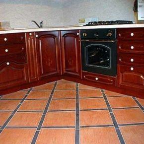 Напольная плитка для кухни - фото (45)