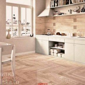 Напольная плитка для кухни - фото (46)