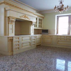 Напольная плитка для кухни - фото (50)