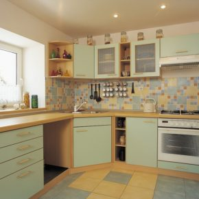 Напольная плитка для кухни - фото (60)