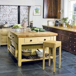 Напольная плитка для кухни - фото (62)