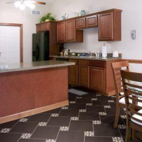 Напольная плитка для кухни - фото (64)