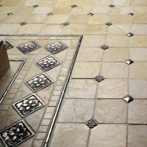 Напольная плитка для кухни - фото (65)