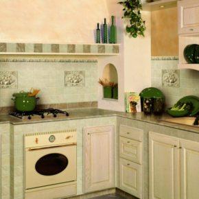 Напольная плитка для кухни - фото (70)