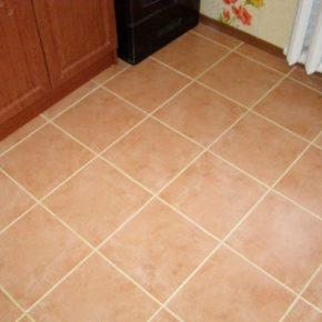Напольная плитка для кухни - фото (71)