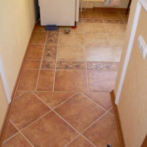 Напольная плитка для кухни - фото (77)