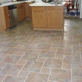 Напольная плитка для кухни - фото (80)