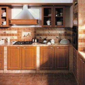 Напольная плитка для кухни - фото (86)