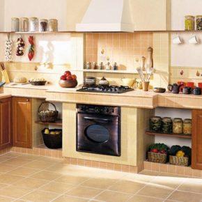 Напольная плитка для кухни - фото (88)