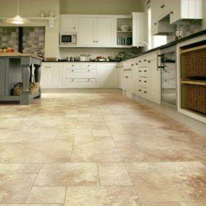 Напольная плитка для кухни - фото (89)
