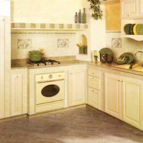 Напольная плитка для кухни - фото (90)